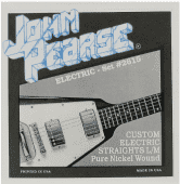 11-52 John Pearse 2615 Pure Nickel Wound Straights L/M Custom