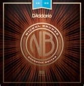 12-53 D'Addario NB1253 Nickel Bronze Light Gauge