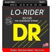 30-125 DR MH6-30 Lo-Rider Stainless Steel / Hex Core 6-String