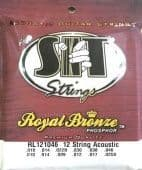 10-46 S.I.T. RL121046 Royal Bronze Phosphor 12 String