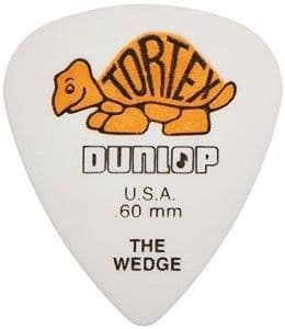 0.6 mm Dunlop Tortex Wedge Orange