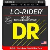 40-120 DR LH5-40 Lo-Rider Stainless Steel / Hex Core 5-String