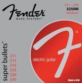 11-49 Fender 3250M Super Bullets Nickel-Plated Steel Medium