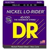 45-100 DR NMLH-45 Lo-Rider Nickel Plated Steel / Hex Core