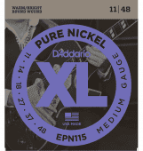 11-48 D'Addario EPN115 Pure Nickel Medium Gauge