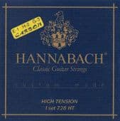 28-44 Hannabach 728HTC Custom-Made Carbon High Tension
