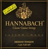 28-44 Hannabach 728MTC Custom-Made Carbon Medium Tension