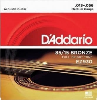 13-56 D'Addario EZ930 85/15 Bronze Medium Gauge