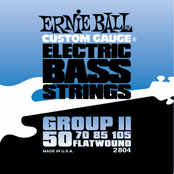 50-105 Ernie Ball 2804 Flatwound Group II