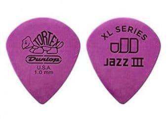 1.14 mm Dunlop Tortex Jazz III XL Purple