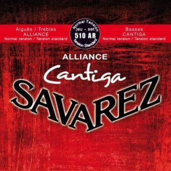 25-43 Savarez 510AR Alliance Cantiga Normal Tension