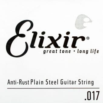 17 Elixir 13017 Anti-Rust Plain Steel String