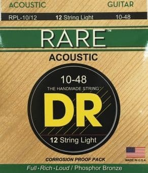 10-48 DR RPL-10/12 Rare Phosphor Bronze Light 12 String