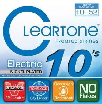 10-52 Cleartone 9420 Nickel Plated Light Top / Heavy Bottom