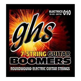 10-60 GHS Boomers GB7M Roundwound 7-String