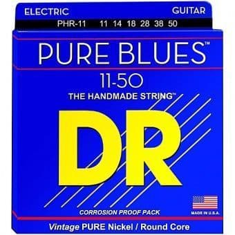 11-50 DR PHR-11 Pure Blues Vintage Pure Nickel/Round Core