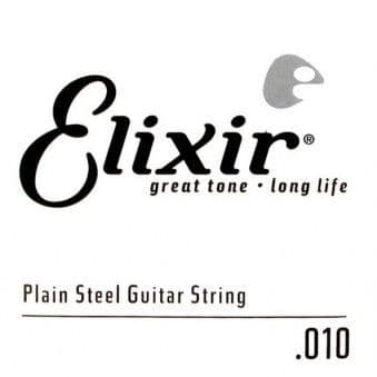 10 Elixir 13010 Anti-Rust Plain Steel String