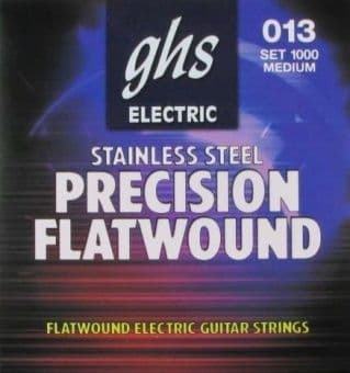 13-54 GHS 1000 Precision Flatwound Stainless Steel Medium