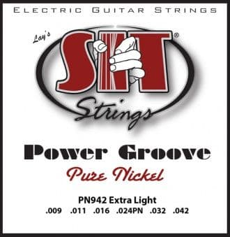 09-42 S.I.T. PN942 Power Groove Pure Nickel Extra Light