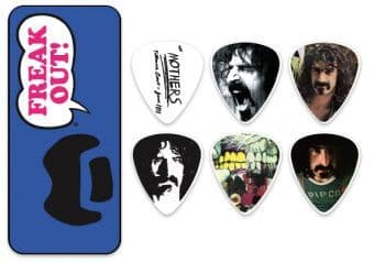 0.73 mm Dunlop ZAPPT02M Frank Zappa Blue Tin 6 pcs