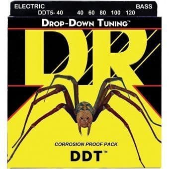 40-120 DR DDT5-40 Drop-Down Tuning 5-String