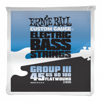 45-100 Ernie Ball 2806 Flatwound Group III