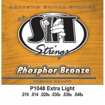10-48 S.I.T. P1048 Phosphor Bronze Extra Light