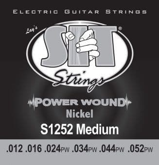 12-52 S.I.T. S1252 Power Wound Nickel Medium