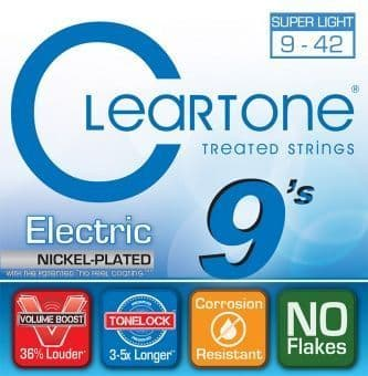 09-42 Cleartone 9409 Nickel Plated Super Light