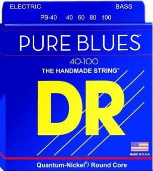 40-100 DR PB-40 Pure Blues Quantum-Nickel / Round Core