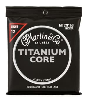 12-55 Martin MTCN160 Titanium Core Nickel Wrap Light
