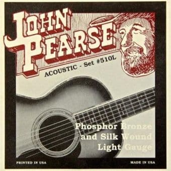 11-49 John Pearse 510L Phosphor Bronze and Silk Wound Light Gauge