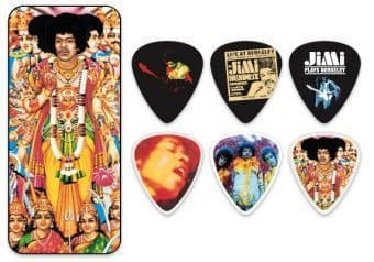 0.73 mm Dunlop JHPT02M Jimi Hendrix Axis: Bold as Love Celluloid 12 pcs