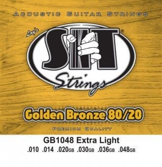 10-48 S.I.T. GB1048 Golden Bronze 80/20 Extra Light