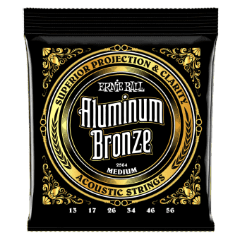 13-56 Ernie Ball 2564 Aluminum Bronze Medium